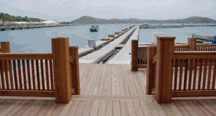 Green Heart Decking - St. Thomas